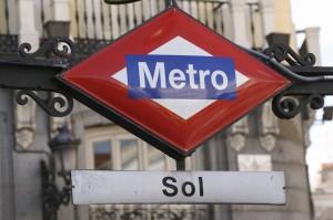 Sol metro sign